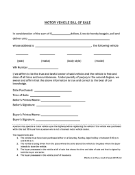 Auto Dealer Bill Of Sale Template by 46 Fee Printable Bill Of Sale Templates Car Boat Gun Vehicle