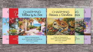 make coloring book make a masterpiece grayscale coloring books youtube