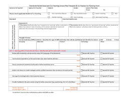 30 standard lesson plan template search results for standards