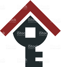 real estate home apartment key for bright future logo icon stock built structure concepts topics construction industry house key international landmark