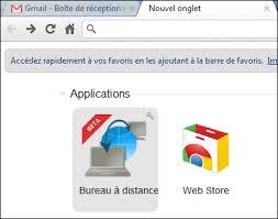 bureau distance chrome chrome remote desktop prendre le contrôle d un ordinateur à distance