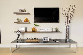 Floating Shelves Entertainment Center by Cathy Lee Style Top Of The Line Spaces