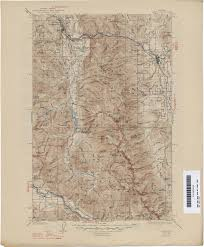 Montana State Map Montana Topographic Maps Perry Castañeda Map Collection Ut