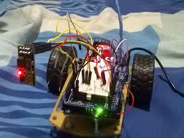 membuat lu led headl motor esp8266 l298n motor drive smartphone hackster io
