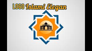membuat logo kelas dengan photoshop tutorial photoshop cc cara membuat logo islami kreatif dan elegan