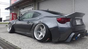 subaru brz rocket bunny white rallybacker wide body kit v2 for fr s brz 86 86worx