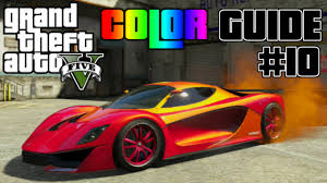 colour combos gta v ultimate color guide 10 best colors combos for grotti