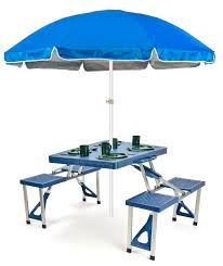 Portable Folding Picnic Table Trademark Innovations Portable Folding Picnic Table 6 5