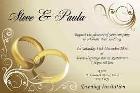 Popular Personal Wedding Invitation Cards Hindu Personal Wedding Invitation Wordings Free Printable