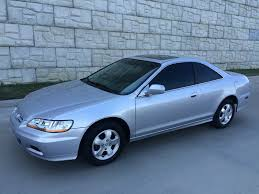 2002 silver honda accord 2002 honda accord cpe exl 5speed manual runs perfrect carfax