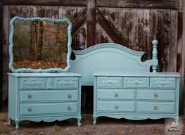 Painted French Provincial Dresser Set By FunCycled Wwwfuncycled - French provincial bedroom ideas