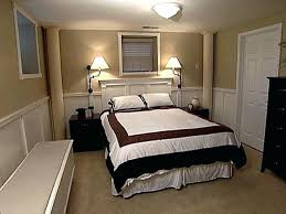 Unfinished Basement Bedroom How To Decorate A Basement Bedroom Home Design And Decor