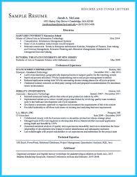 Resume Sample Harvard University by Harvard Application Resume Format