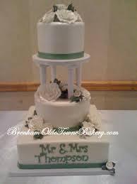 wedding cake with pillars idea in 2017 bella wedding