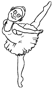 Ballerina Coloring Pages Ngbasic Com Ballerina Printable Coloring Pages