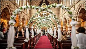 church wedding decoration ideas church wedding decor ideas bollywoodshaadis