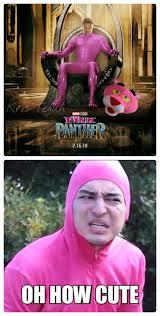 Pink Panther Halloween Costume Pink Panther Pink Guy 9gag