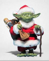 fabriche santa yoda wars christmas decorations sold out