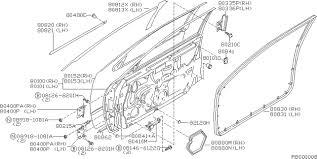 nissan murano door trim clips 2003 nissan altima sedan oem parts nissan usa estore