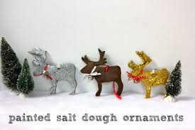 salt dough ornaments painted glittered and more buzzmills
