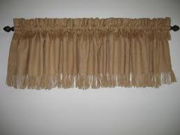 decorations burlap window treatments for cute interior home