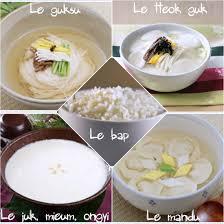 base de la cuisine les principaux plats de la cuisine coréenne
