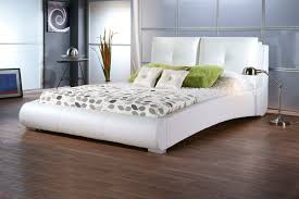 Cheap Leather Bed Frame White Leather Bed Frame King Excellent Whiter Headboard Single