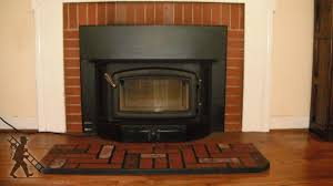 prefab fireplace inserts wood burning home decorating interior