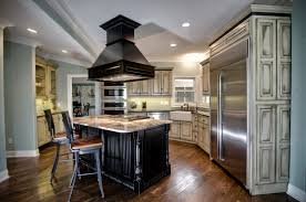 kitchen island with stove top and seating http designingidea com