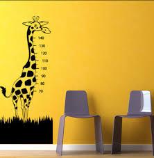 stickers girafe chambre bébé stickers pas chers pour chambre d enfant déco côté maison