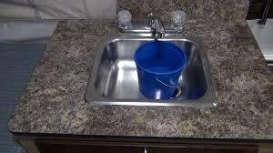 Pop Up Camper Sink Faucet Popup Camper Water Pump U0026 Cutoff Switch Youtube