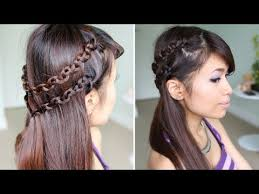hairstyles for long hair at home videos youtube side swept french braid on yourself romantic hairstyle for long hair
