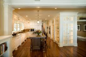 Kitchen Family Room Combo by Restoration Of An American Classic Old American House Has Been