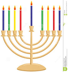 hanukkah candles colors hanukkah menorah royalty free stock photos image 16069688