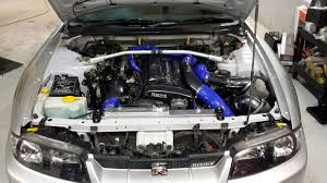 nissan skyline engine bay r33 gtr engine bay clean up perfect touch performance ltd