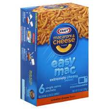 easy macaroni cheese kraft easy mac macaroni and cheese dinner extreme cheese 6