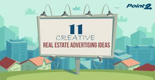 11 creative real estate advertising ideas point2 agent real