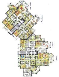 San Remo Floor Plans Vista Del Mar Floor Plans Myrtle Beach Oceanfront Condos