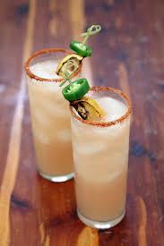 spicy cucumber margarita tequila st germain lime juice