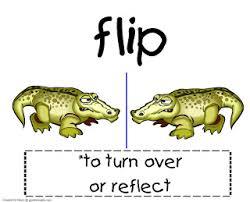 guided math math word wall reflection rotation translation