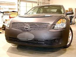nissan altima 2005 front bumper amazon com lebra 2 piece front end cover black car mask bra
