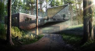 forest render best of week 01 2015 forest house by matus nedecky ronen