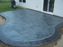 Diy Cement Patio by Acid Stained Concrete Patio Depot Concrete Stain Diy Stained