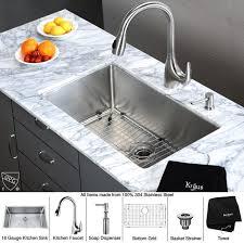 where are kraus sinks made kraus khu100 30 kpf2170 sd20 30 undermount single bowl stainless