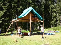 tenda jamboree sopraelevata