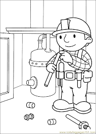 bob the builder coloring page 46 coloring page free bob the