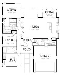 1 Storey Floor Plan by 10 1700 Sq Ft House Plans Without Garage Arts One Story Stylish