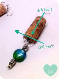 authentic wine cork ornament snowman collectible gift