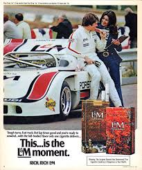 newspaper car ads love at first light romance in 1970s cigarette advertising flashbak