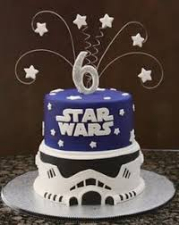 star wars birthday cake the force is strong with this one star
